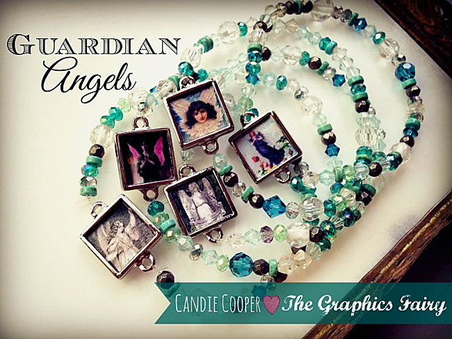 Photo Collage Jewelry Project with Candie Cooper