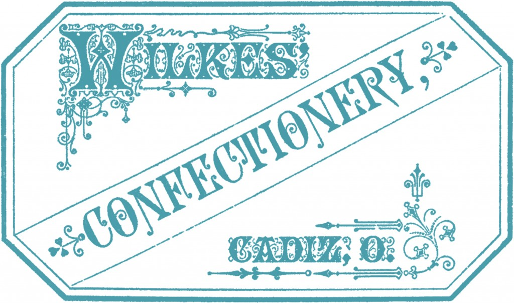 Confectionery Label Images
