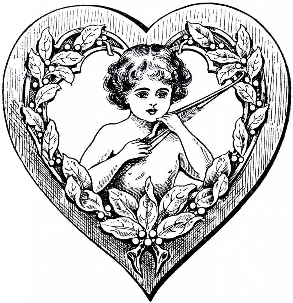 Cupid Heart Clip Art