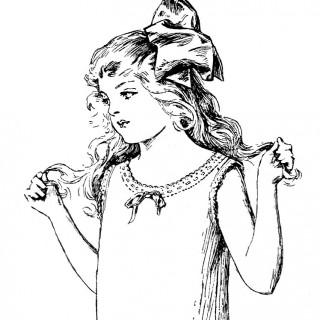 Edwardian Slip Girl Image 2