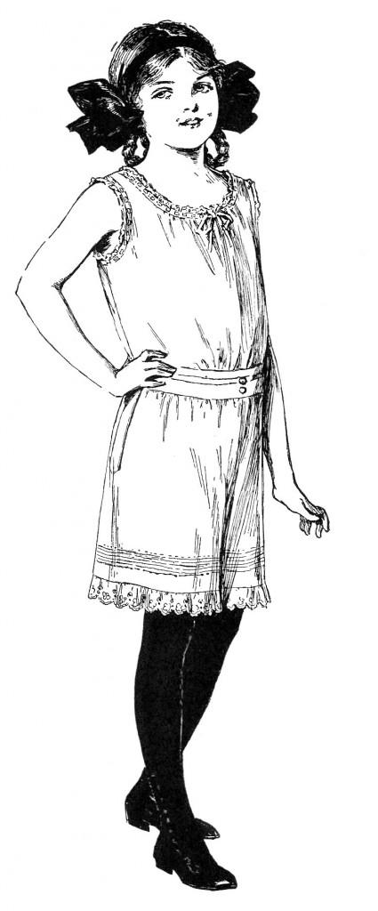 Edwardian Slip Girl