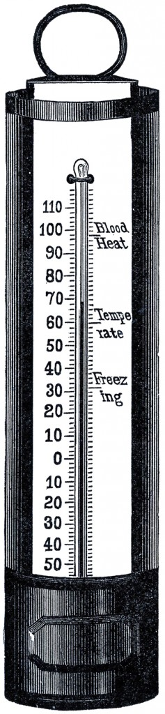 Free Thermometer Clip Art The Graphics Fairy