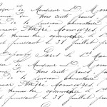 French Handwriting Transfer