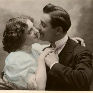 Old Photo Vintage Romance