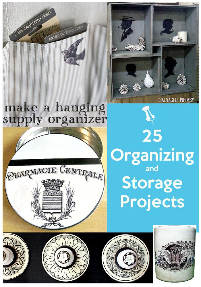 Organizing Projects ideas Pinterest image