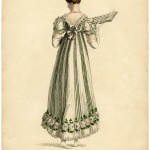 Regency Period Evening Dress