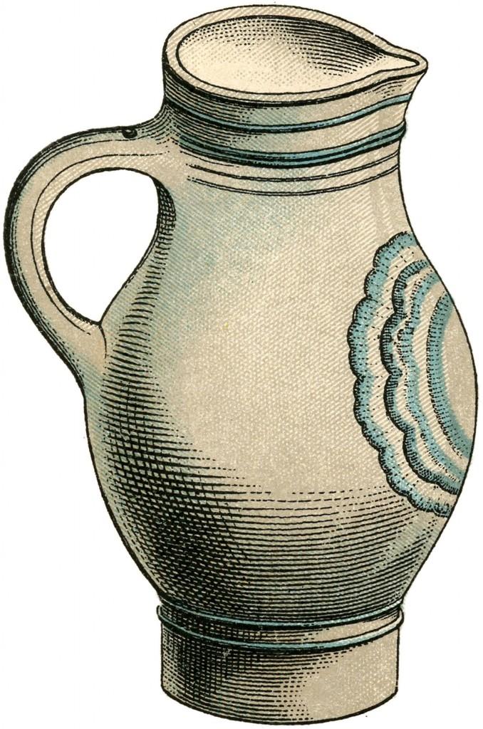 Stoneware Pitcher Image