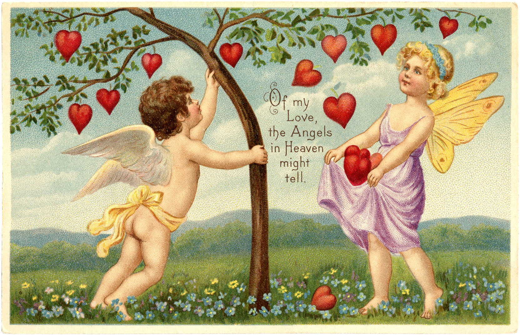 Valentine Fairy Heart Tree Image