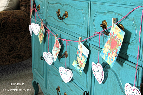 Adorable Valentine Banner - Reader Featured Project