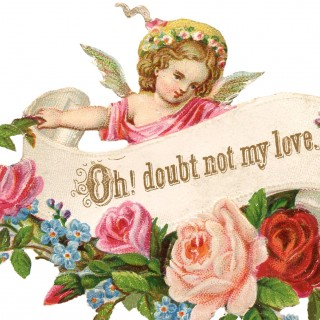 Lovely Valentine Scrap Image