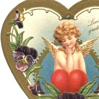 Victorian Valentine Image