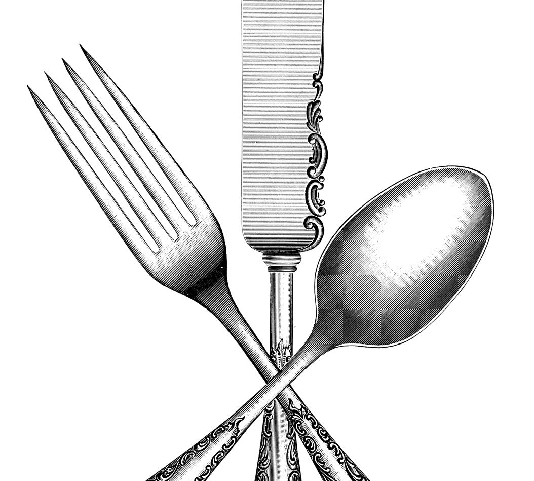 Vintage Silverware Image