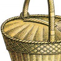 Wicker Basket Image