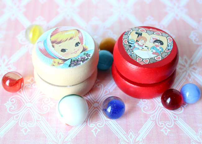 Yo-Yo Valentine Craft