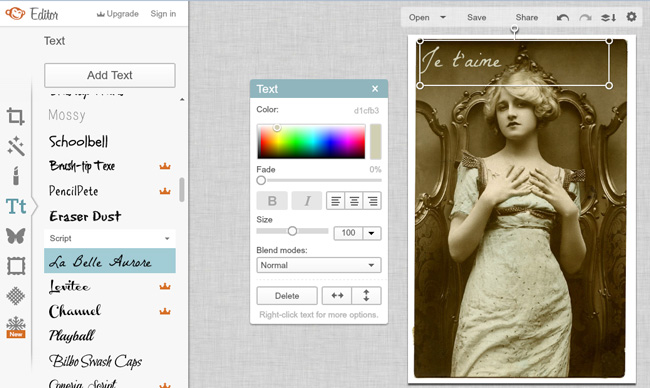Six Simple Ways to Alter Photos Using PicMonkey - The Graphics Fairy