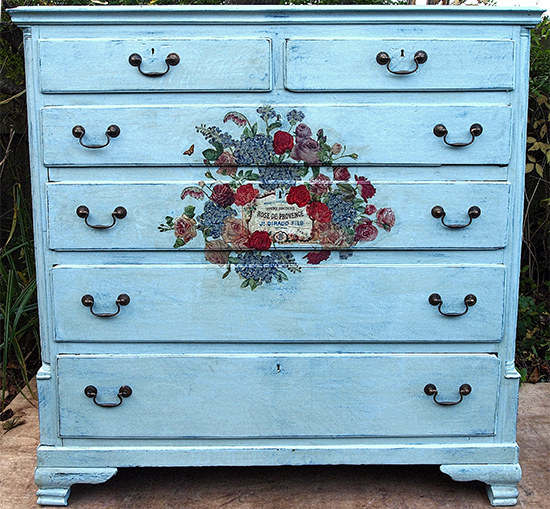 Painted Chest Of Drawers   Reader Featured Project