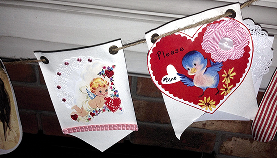 Adorable Valentine Banner Craft - Reader Featured Project