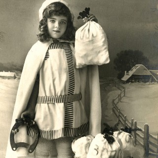 Miss Money Bags Image – Old Photo
