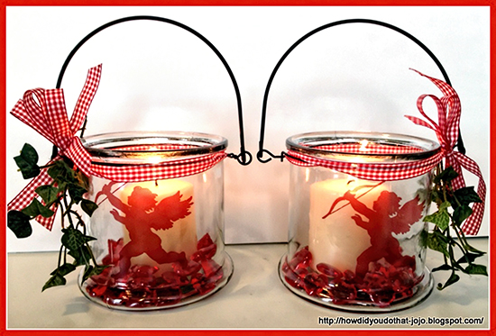 DIY Valentine Candle Holders - Reader Featured Project
