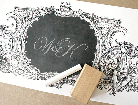 DIY Chalkboard Art Poster - Reader Featured Project