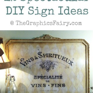12 DIY Painted Signs