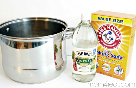 Clean Your Burnt Pots and Pans with Baking Soda
