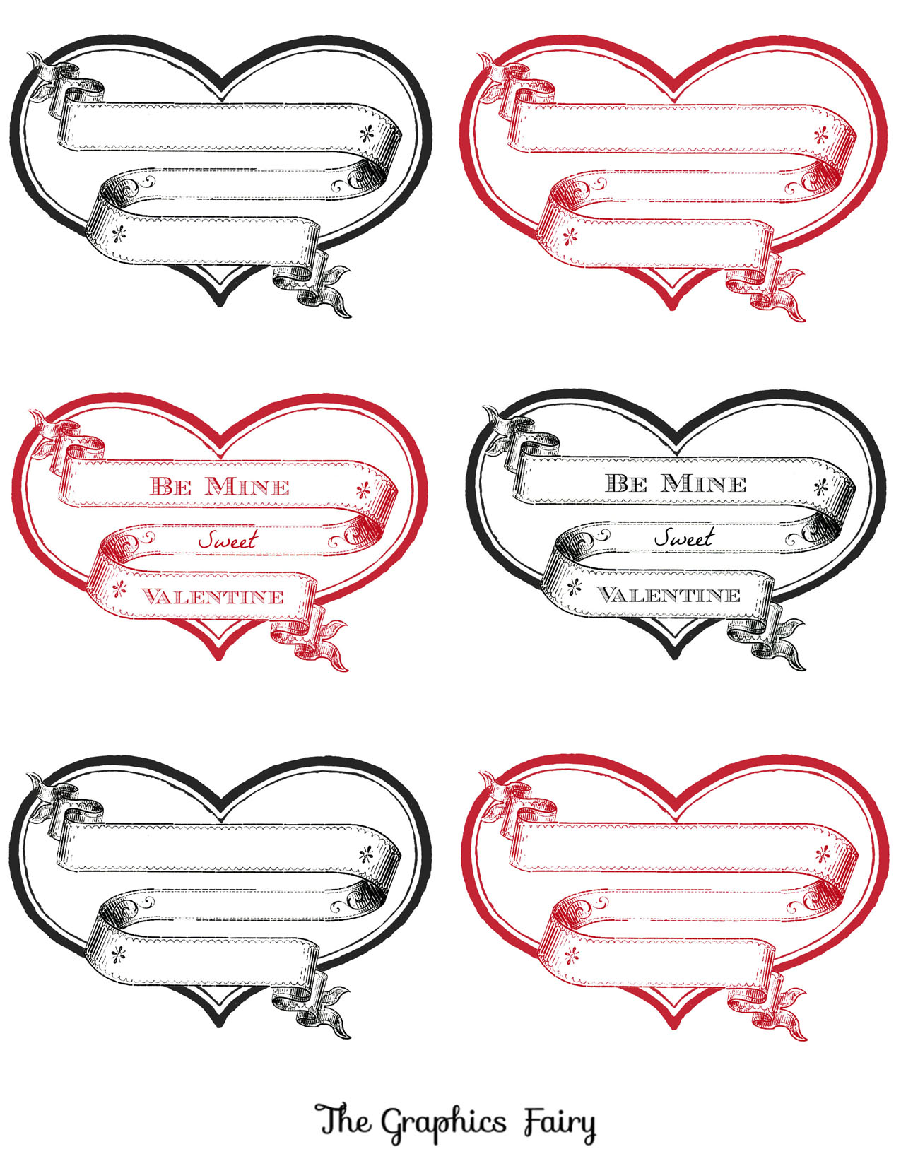 free printable heart labels the graphics fairy
