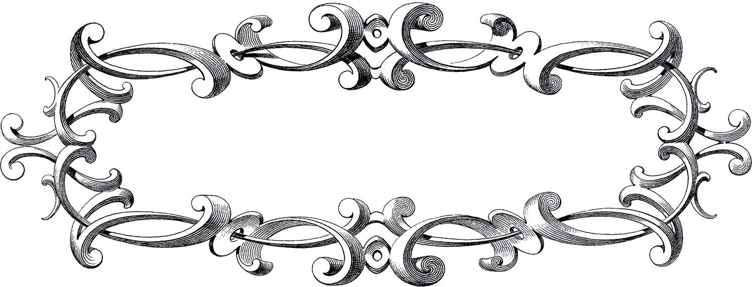 Free Victorian Frame Clip Art The Graphics Fairy - 1500x572 - jpeg