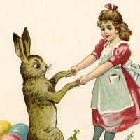 Free Vintage Easter Bunny Images