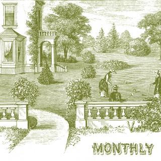Pretty Garden Scene Graphics – Croquet