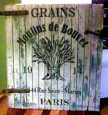 Grain Sack Sign Molly Susan Strong