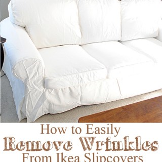How to Easily Remove Wrinkles from an Ikea Slipcover