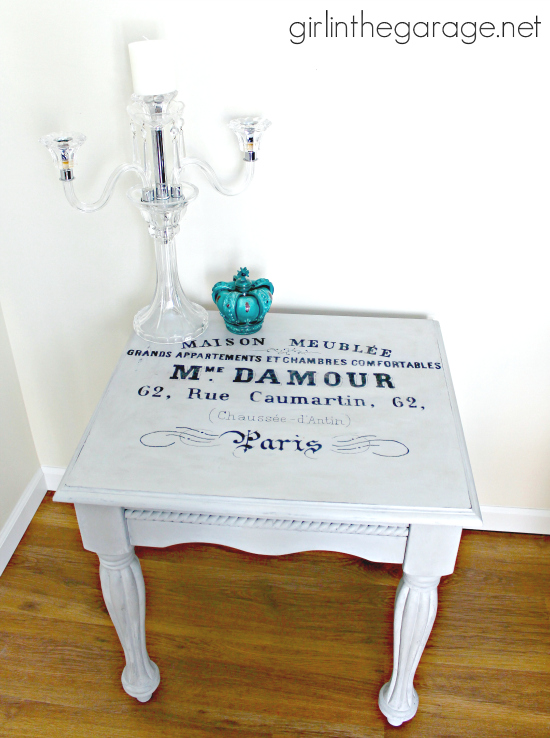 Chalk Painted Table Makeover - Reader Featured Project