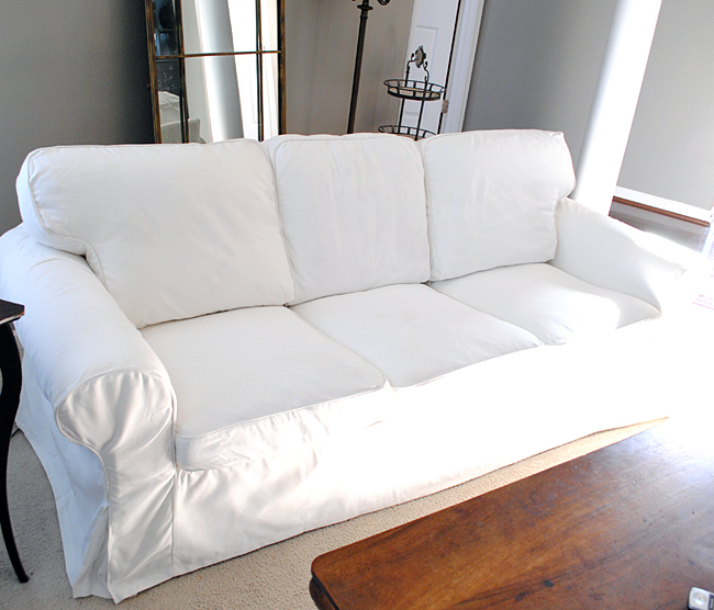 How To Easily Remove Wrinkles From Ikea Slipcovers The