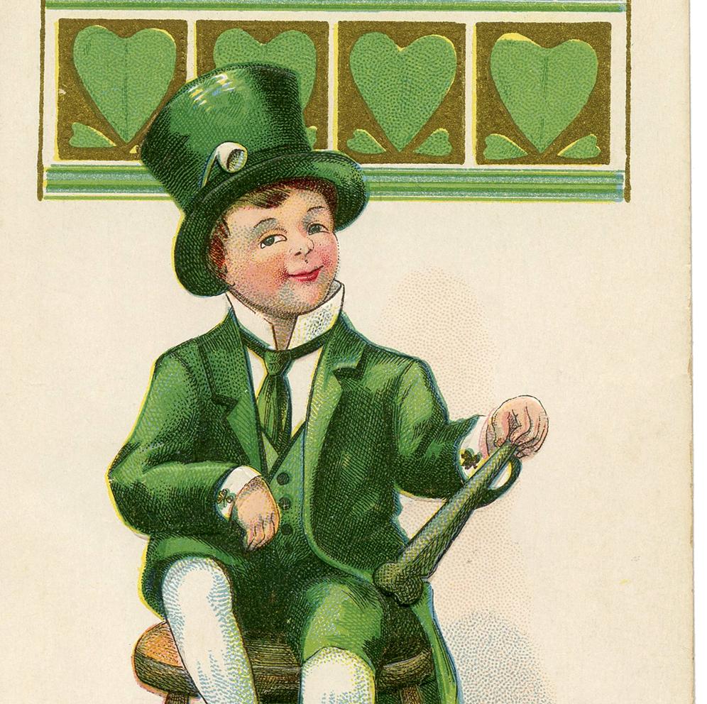 Irish Leprechaun Image - The Graphics Fairy