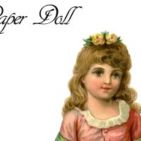 Vintage Printable Paper Doll