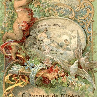 Romantic Paris Perfume Label – Gorgeous!