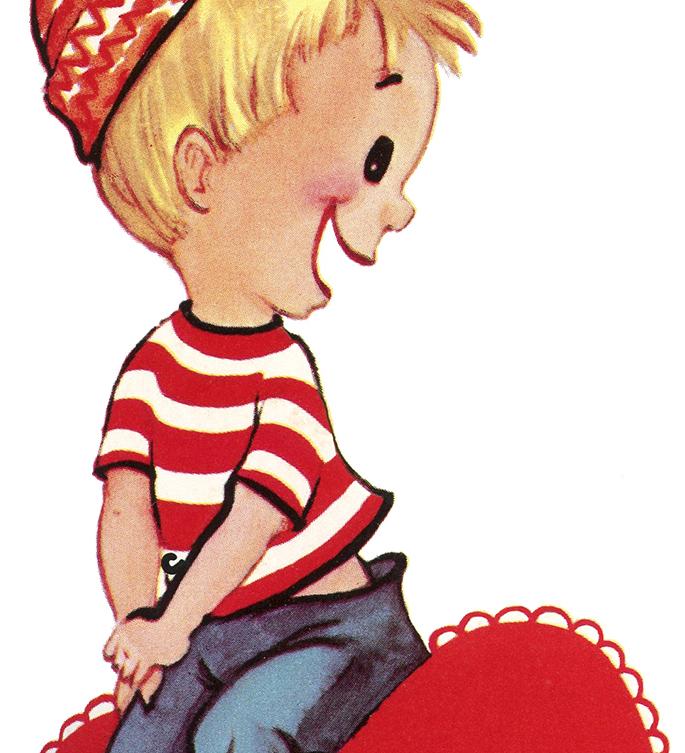 Retro Boy Valentine The Graphics Fairy