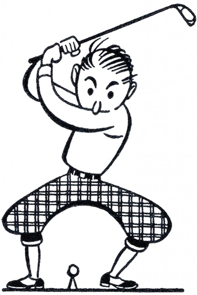 free golf club pictures clip art - photo #30