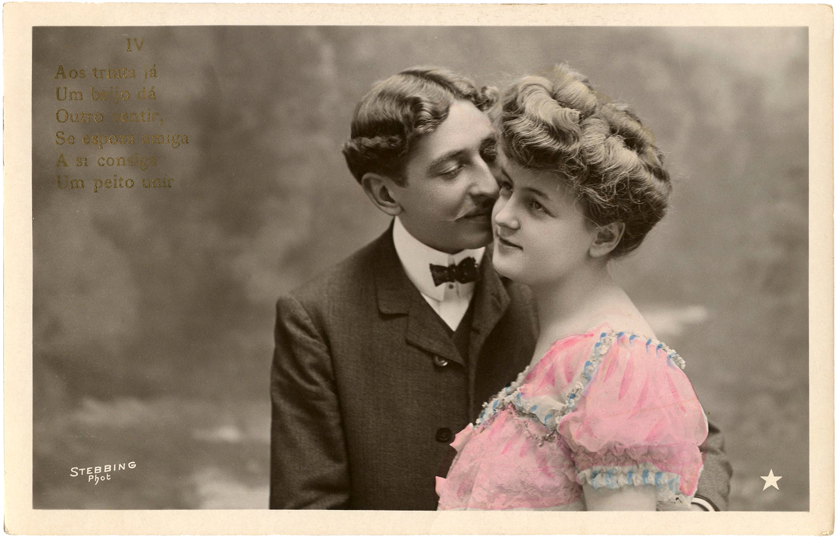 Romantic Couple Old Photo The Graphics Fairy