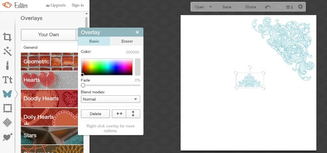 Resize, rotate and mirror images with PicMonkey-The Graphics Fairy