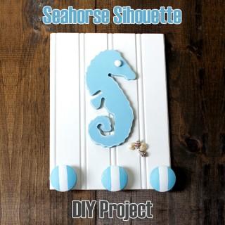 Seahorse DIY Wall Rack
