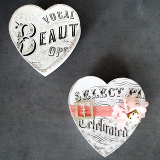 Valentine DIY Project – Heart Song Box