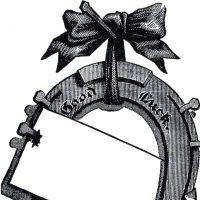 Vintage Horseshoe Image