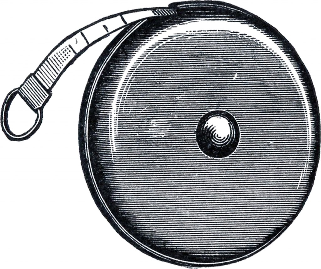 Vintage Tape Measure Clip Art