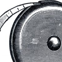 Vintage Tape Measure Clip Art