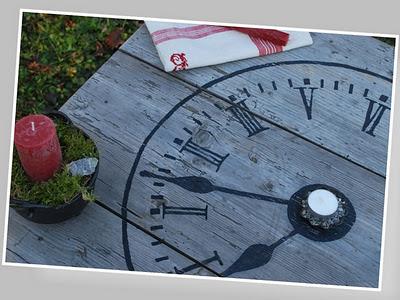 clock table by nikantik