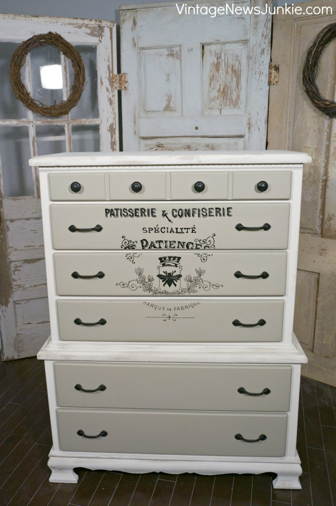 Painted Wooden Dresser