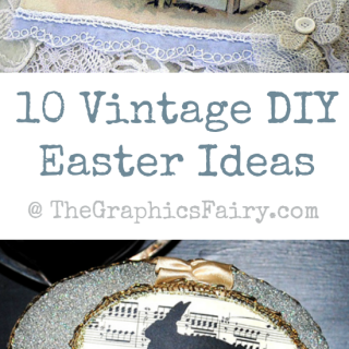 10 Vintage DIY Easter Ideas