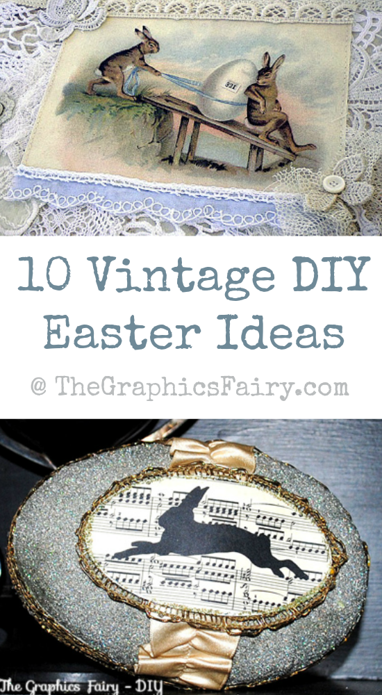 10 Vintage DIY Easter Ideas